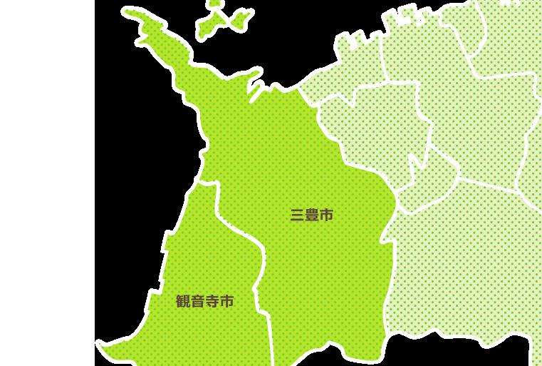 地域別に見る 西讃エリア